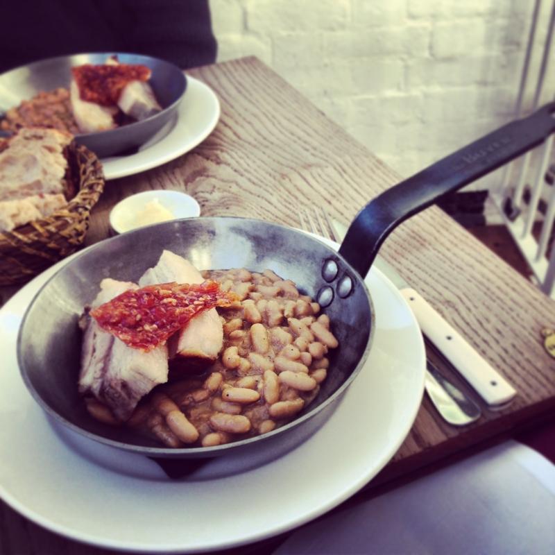 Brawn cung cấp các món ăn mang hương vị Pháp