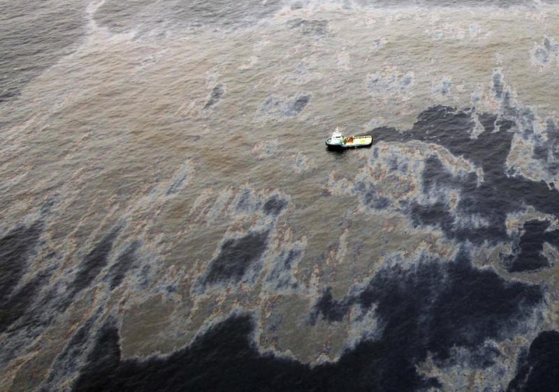 Thảm họa dầu loang tại Brazin