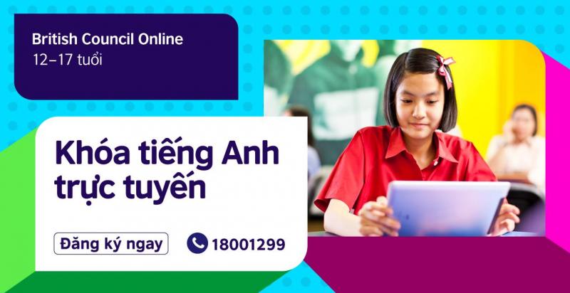 Tại Hội đồng Anh Việt Nam có chương trình đào tạo tiếng anh đa dạng
