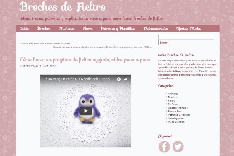 Brochesdefieltro.net