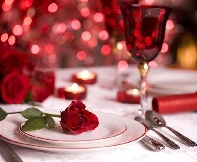 Bữa tối lãng mạn bên người ấy