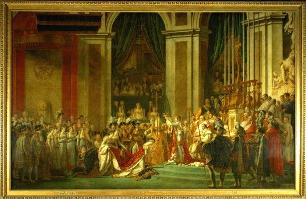 Bức tranh lễ đăng quang của Napoléon