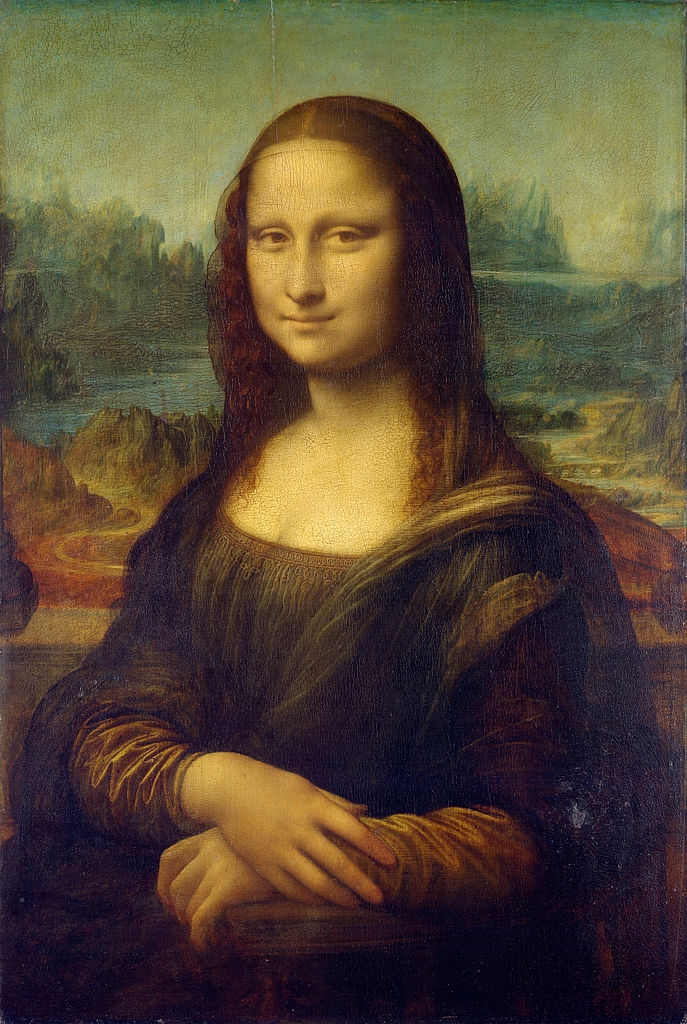 Bức tranh Mona Lisa – Leonardo da Vinci