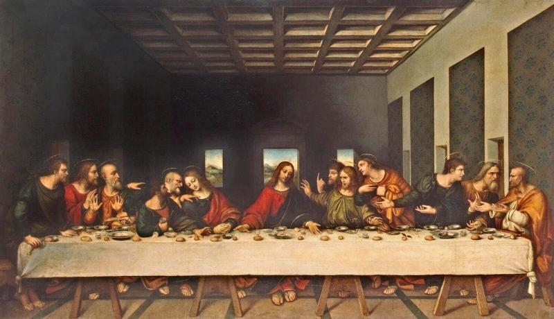 Bức tranh The Last Supper (Bữa Tiệc Cuối Cùng) – Leonardo da Vinci