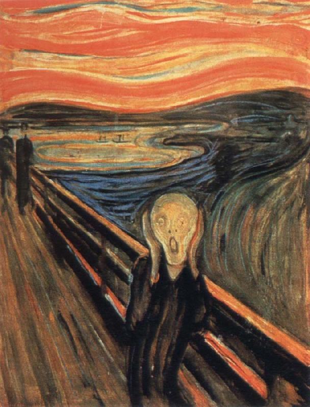 Bức tranh The Scream (Tiếng Thét) – Edvard Munch
