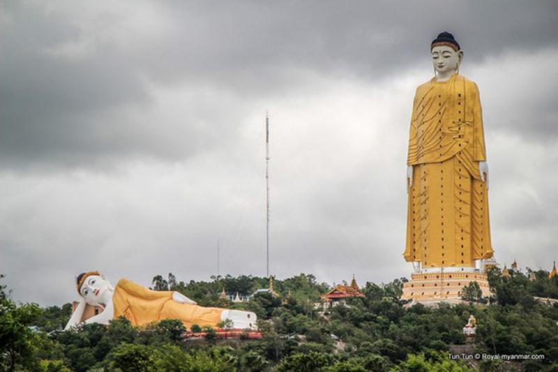 Đại tượng Phật Monywa – Myanmar