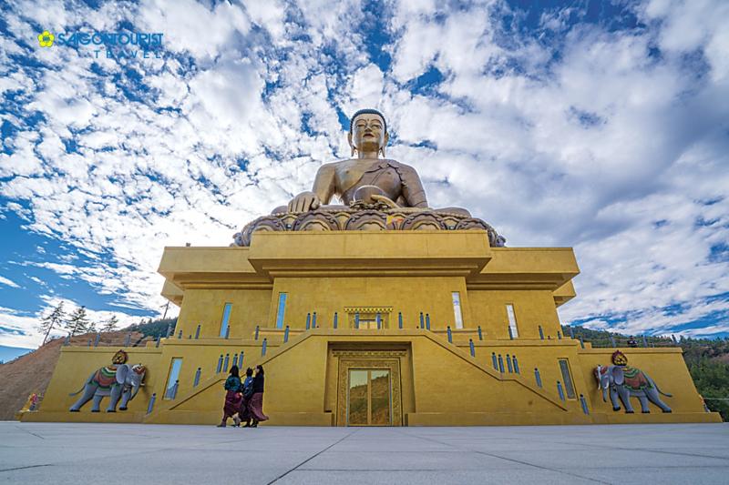 Tượng Phật Dordenma – Vương quốc Bhutan