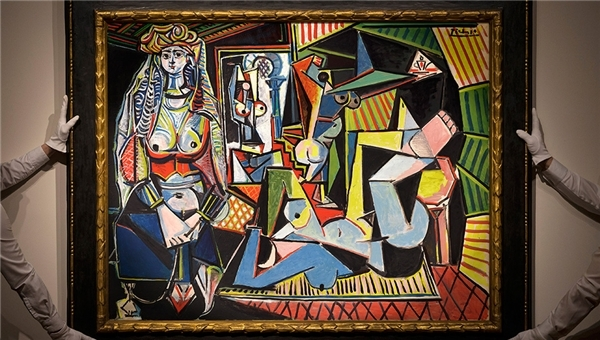 Bức tranh Les Fennes d'Alger có giá 173,9 triệu USD