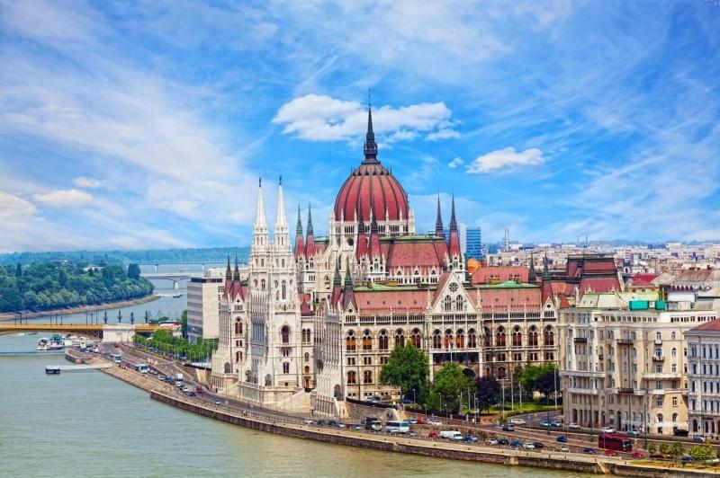Budapest bên bờ sông Danube
