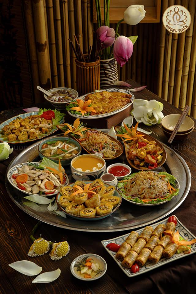 Buffet Chay Hương Thiền
