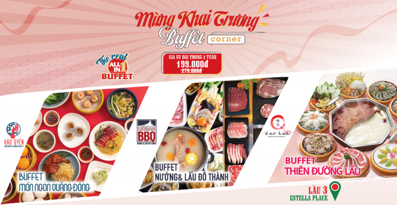 Buffet Corner - Estella Place