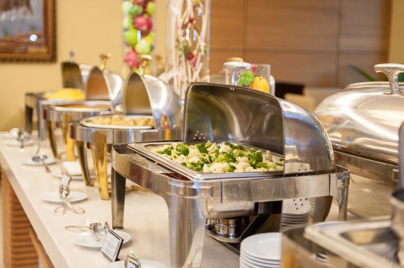 Buffet tại khách sạn Mường Thanh.