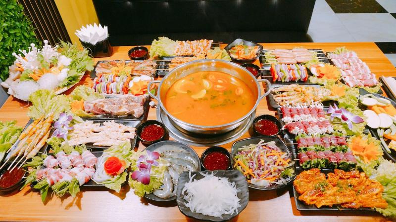 Buffet Nướng & Lẩu Tây Bắc - Nhà Hàng Hải Yến Sa Pa