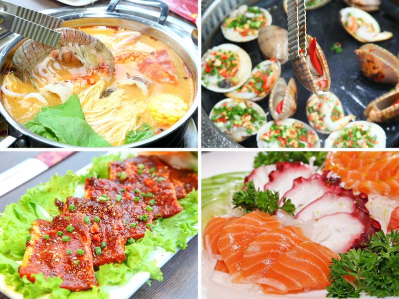 Buffet Poseidon – Lê Văn Lương