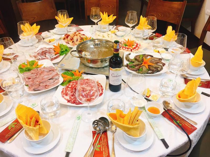 Buffet Thái Nguyên Xanh