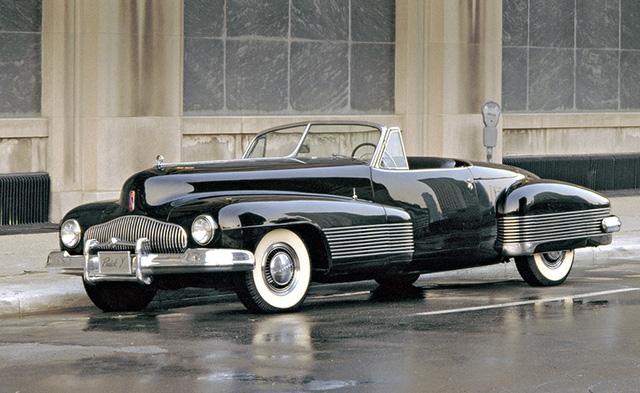 Vẻ ngoài bóng bẩy của Buick Y-Job 1938