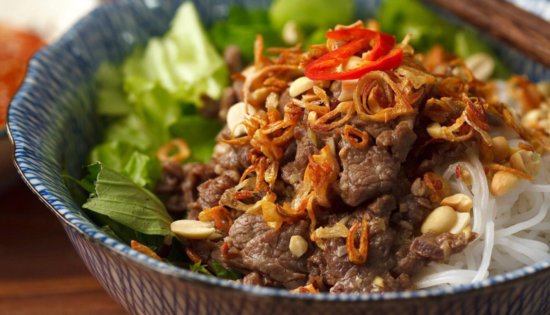 BUMTRO - Bún Trộn Nam Bộ - Tôn Thất Tùng