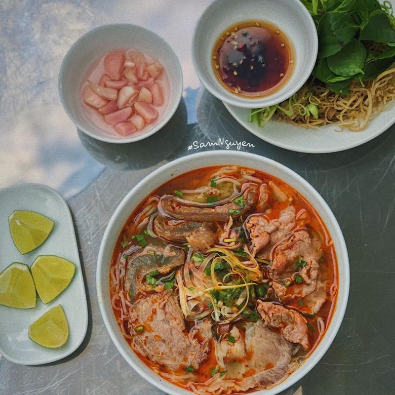 Top 5 Quán bún bò ngon ở quận Gò Vấp, TP.HCM