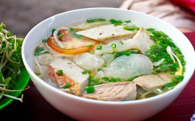 Món bún cá nổi tiếng 25-35k/tô
