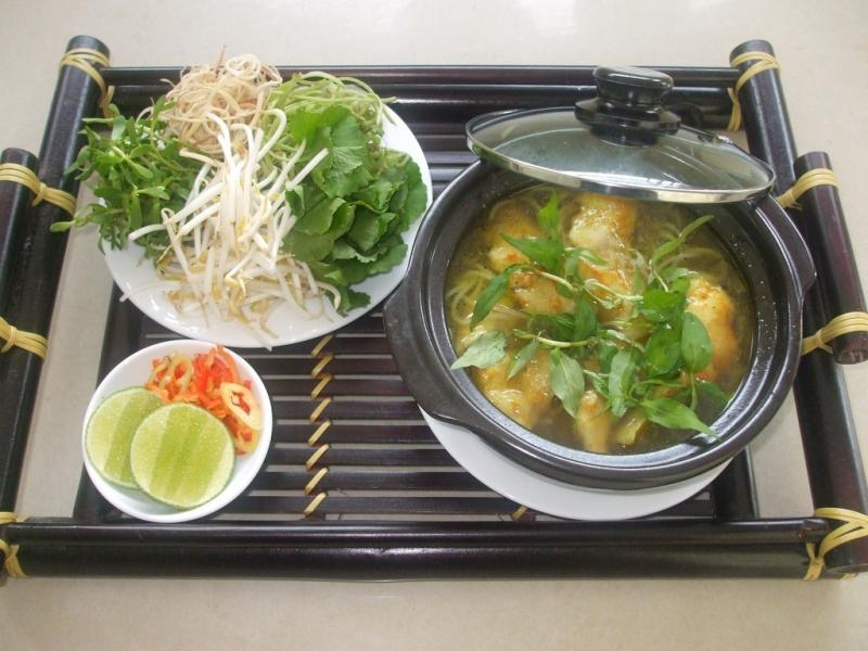 Bún cá Kiên Giang.