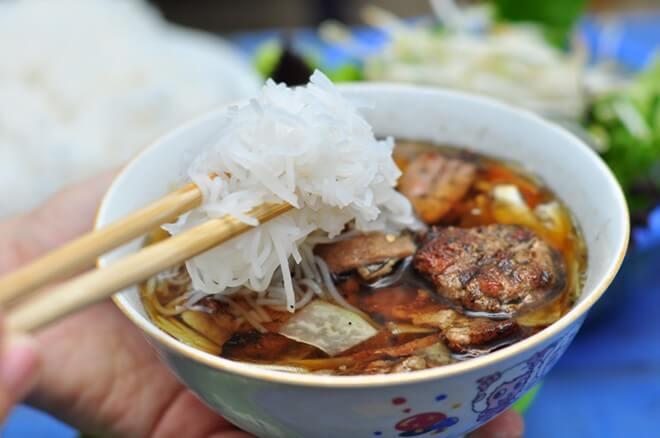 Bún chả Nam Định.