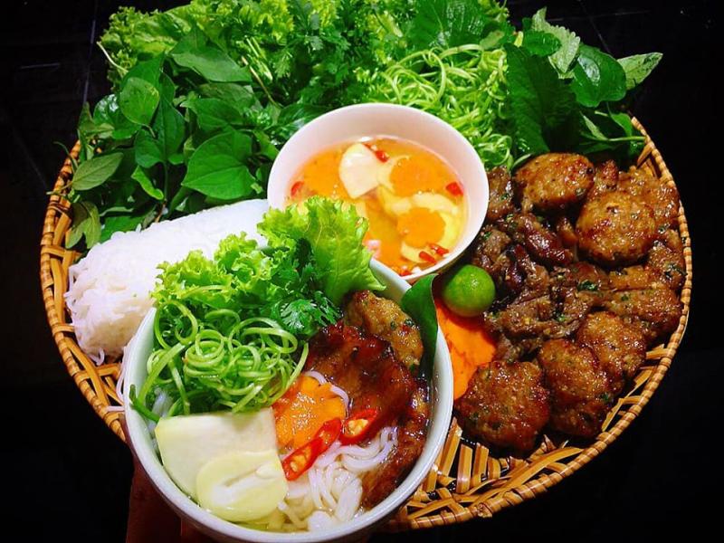 Bún chả Việt Nam