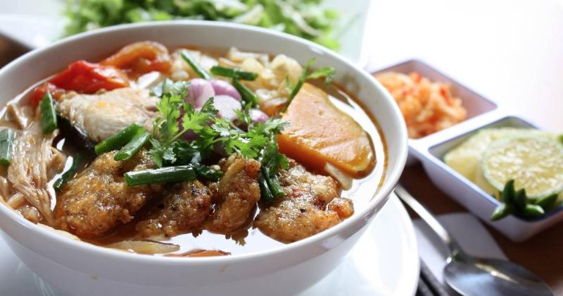 Bún chả cá trở thành đặc sản của Đà Nẵng
