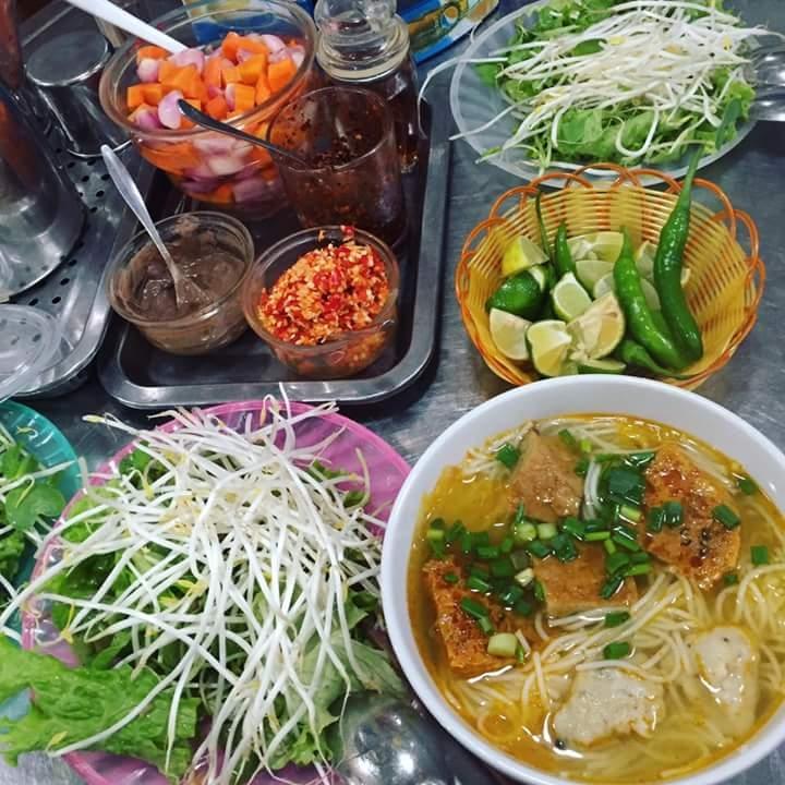 Bún chả cá Nguyễn Chí Thanh