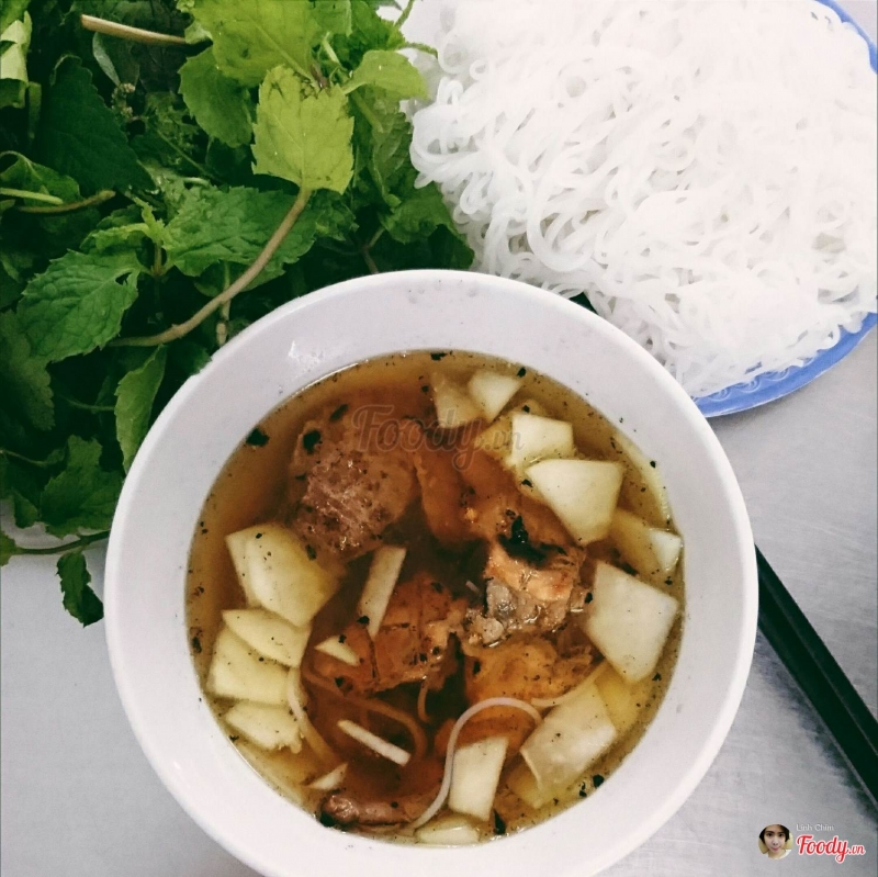 Bún chả thịt nướng - ngõ 105 Hồ Tùng Mậu