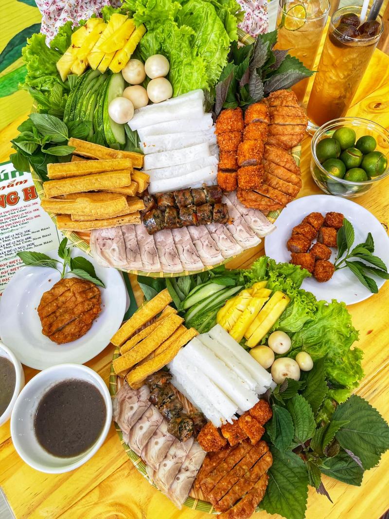 Bún đậu mắm tôm Nàng Hương (Nguồn: Huỳnh Trường Giang)