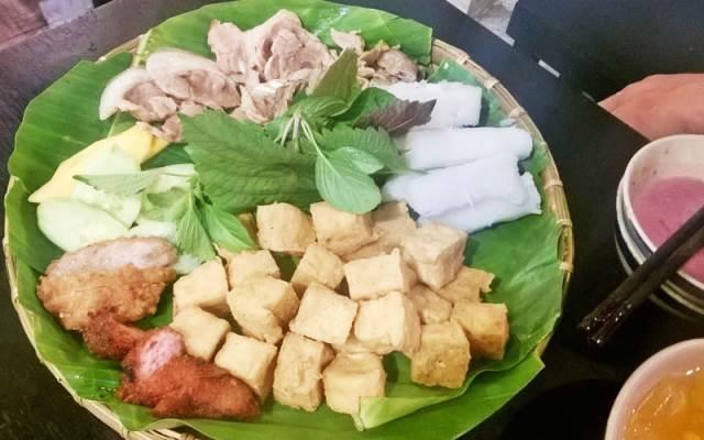 Bún đậu mắm tôm Sơn Giang
