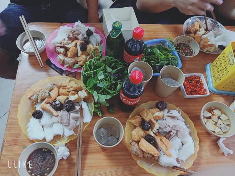 Quán bún đậu ngõ 185 Chùa Láng