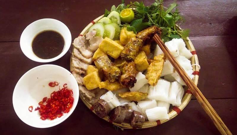 Bún đậu Trung Hương, ngõ Phất Lộc