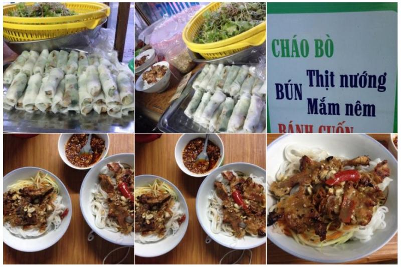 Bún Mắm & Bún Thịt Nướng – Trần Phú