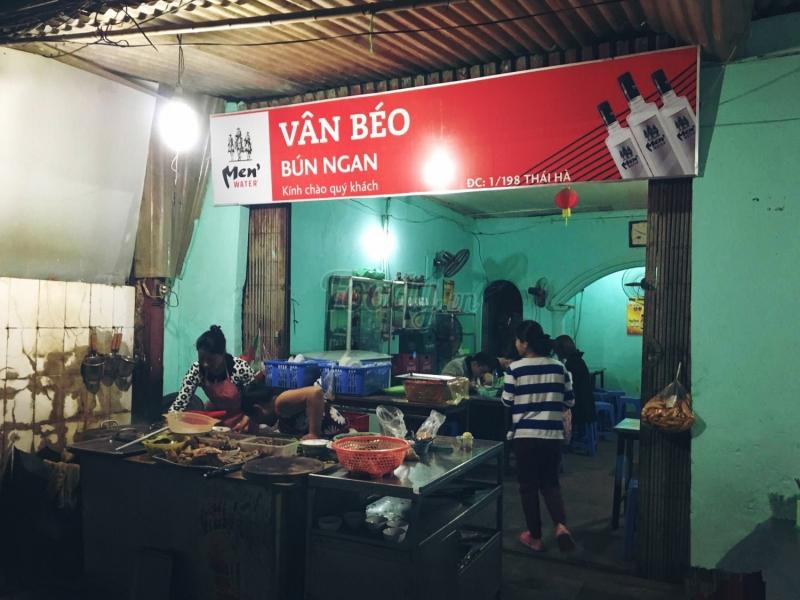 Bún Ngan Vân Béo - 198 Thái Hà