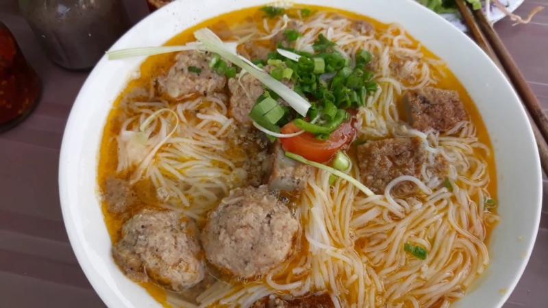 Bún Riêu tại Nha Trang