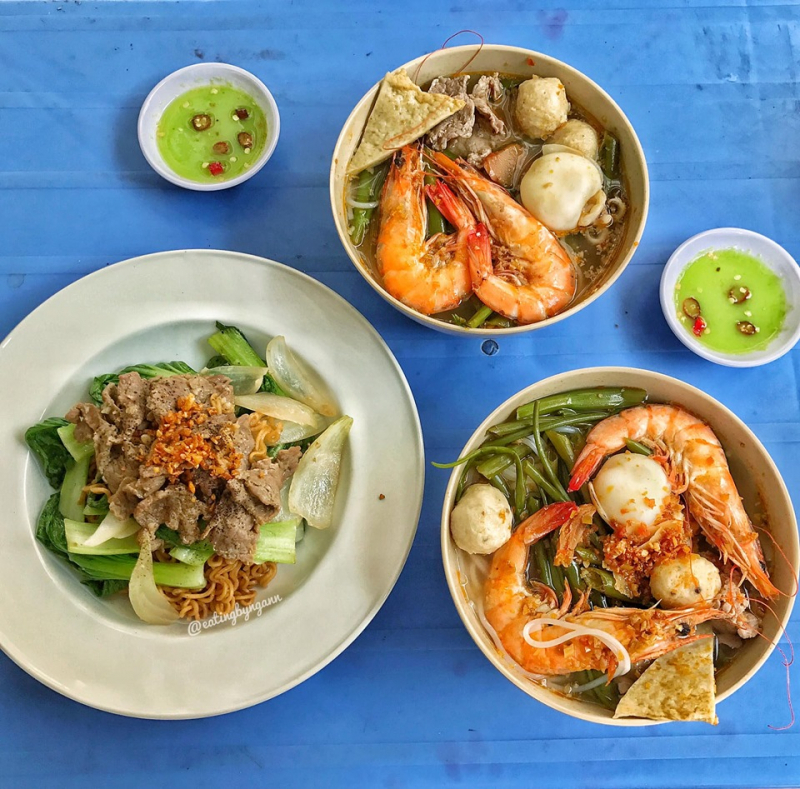Bún Thái - Kiểu Hongkong - Bà Hạt