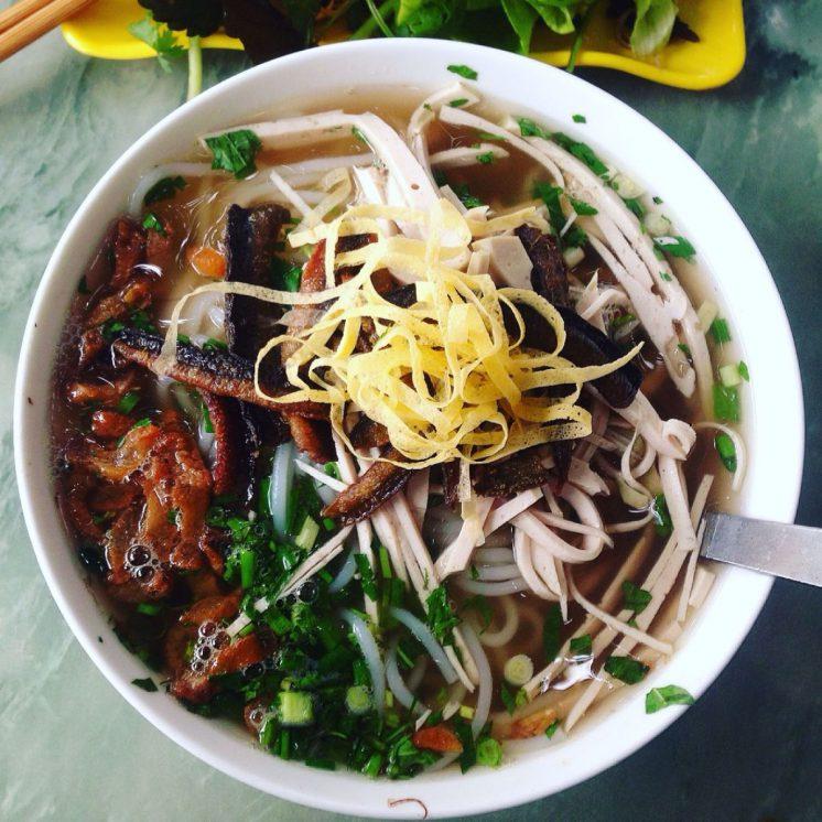 Bún thang lươn đặc sản Hưng Yên