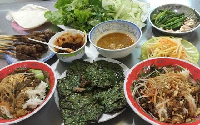 Bún thịt nướng Chú Quảng