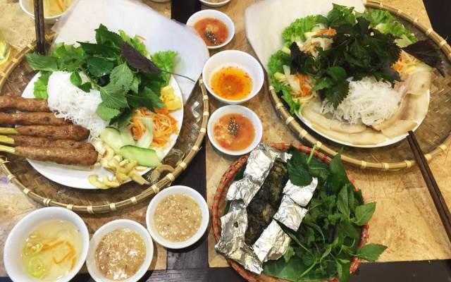 Bún thịt nướng chuỗi nhà hàng Nét Huế