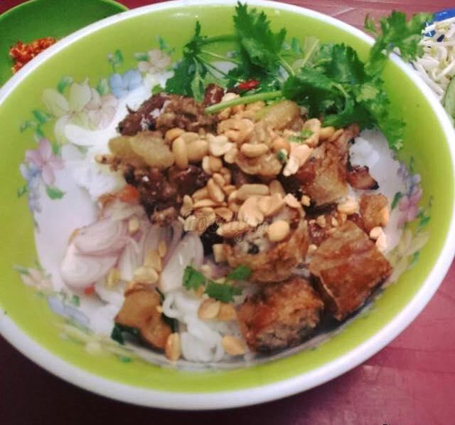 Bún thịt nướng Điện Biên Phủ