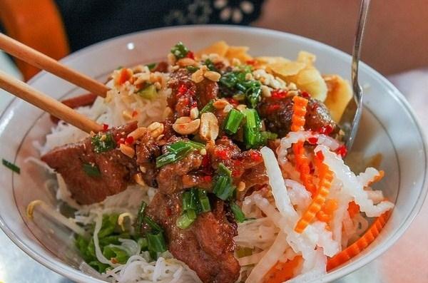 Bún thịt nướng Kim Anh