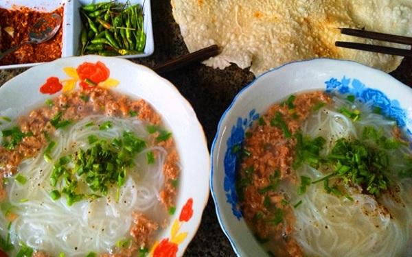 Bún tôm Bình Định