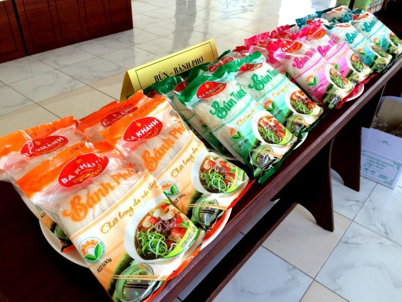 Bún và bánh phở Ba Khánh