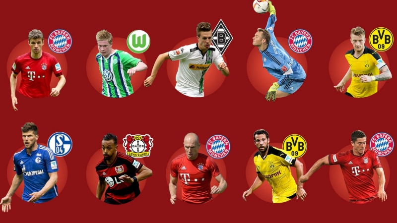 Bundesliga - Đức