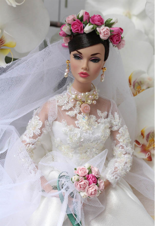 Búp bê cưới tại Puerto Rico
