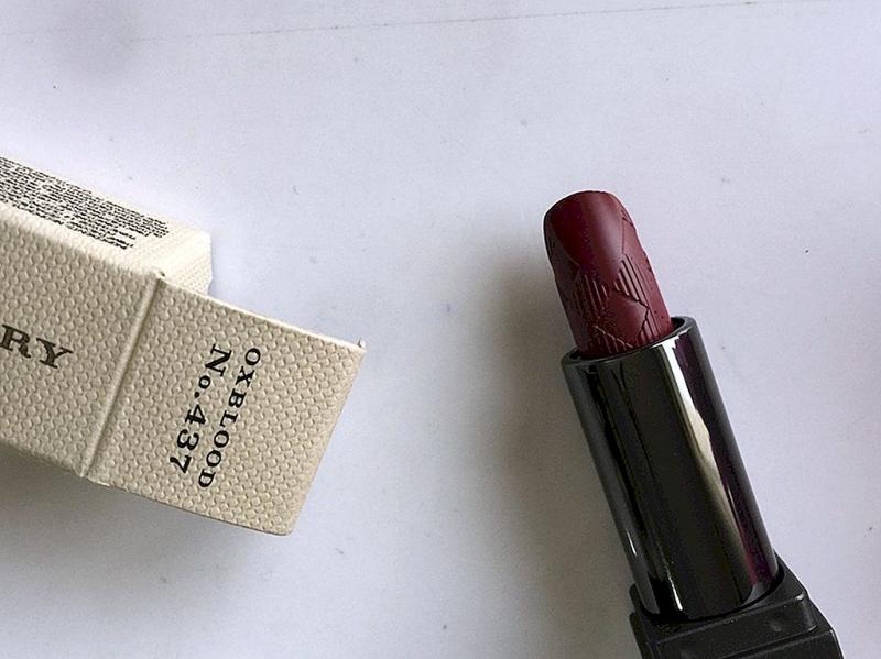Burberry Lip Velvet Lipsticl – Màu oxblood