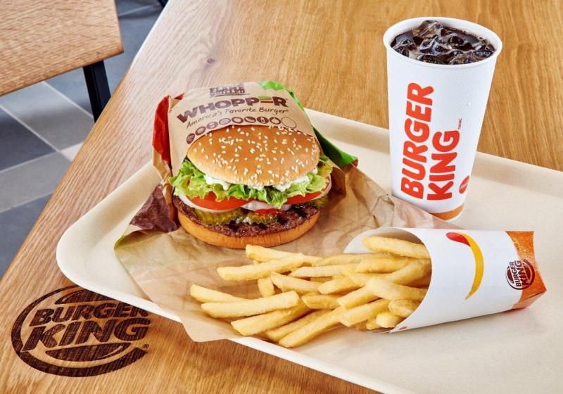 Hamburger của Burger King