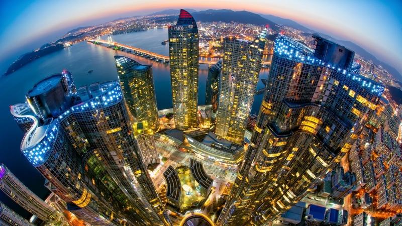 Busan là thành phố cảng lớn nhất Hàn Quốc