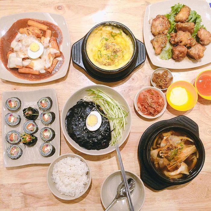 Các món ăn tại Busan Korean Food